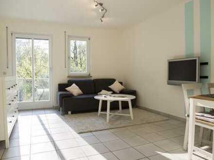 Traumhaft möblierte Wohnung mit EBK und Balkon in MUC-Allach direkt bei MAN