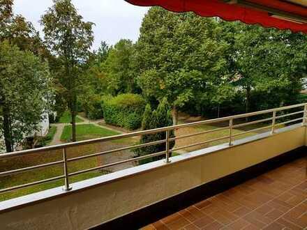 Ihr Blick ins Grüne! Gepflegte 2,5-Zimmer-Wohnung mit Balkon in Kronach
