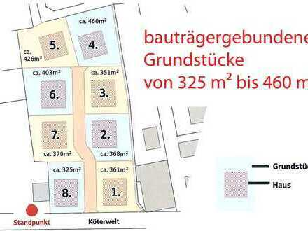 Grundstück für ein Einfamilienhaus der Firma Kern-Haus in Dransfeld