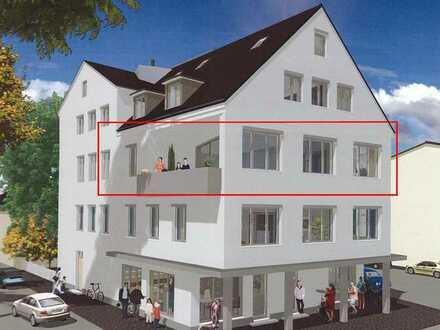 Kernsanierte lichtdurchflutete 2-Zimmer-Wohnung mit Balkon und Einbauküche in Schrobenhausen