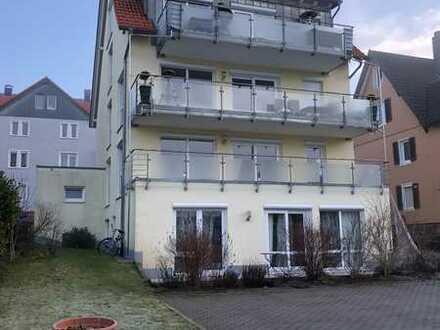 Moderne Maisonette-Wohnung mit Balkon und Einbauküche in Freudenstadt