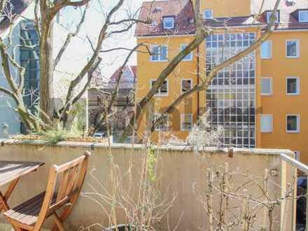 Attraktive Kapitalanlage: Gepflegte 2-Zi.-ETW mit Balkon in zentraler Lage Nürnbergs