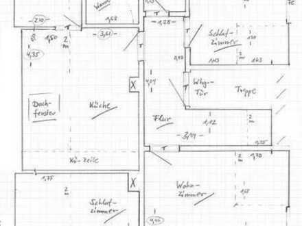 WG im DG – Sonnige WG-Zimmer für 2 Personen in gemütlicher Dachgeschosswohnung zwischen Eltville und