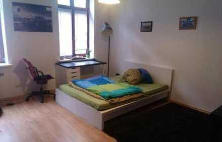 geräumiges 18 qm Zimmer in Studenten-WG im Leipziger Westen