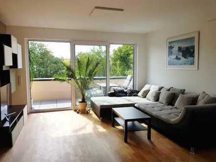 Penthouse-Wohnung mit umlaufender Terrasse in bester Lage von Dreieich