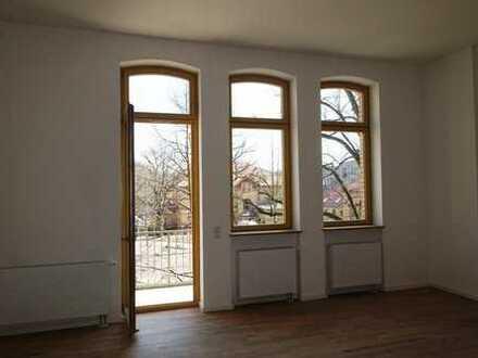 """Wohnen im """"Lindenhof"""": Komfortable 2-Zimmer-Wohnung mit Balkon und Hoch-Ebene"""