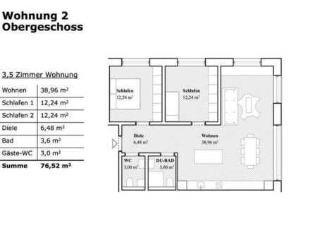 Entspannte 3,5 Zimmer Wohnung mit Garten