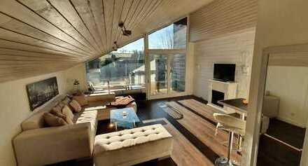 Stilvolle 1,5-Zimmer-DG-Wohnung mit Balkon und EBK in Böblingen für Pendler