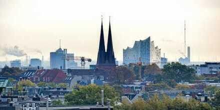 """Einmalige Gelegenheit mit besten Aussichten - Zwei """"loftige"""" Penthäuser über den Dächern Hamburgs"""