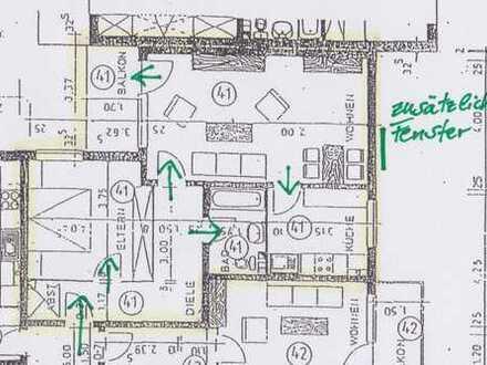 Schöne 2-Zimmer-Wohnung mit Balkon und Garage/Stellplatz in Kerpen