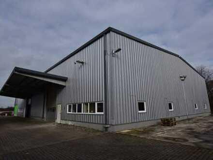 Gewerbeobjekt mit Produktionshalle und Büroflächen an der A4