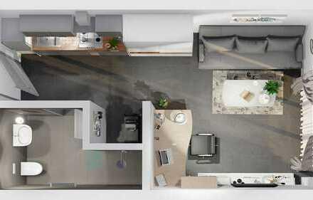 Erstbezug mit Einbauküche: stilvolle 1-Zimmer-Wohnung in Nürtingen