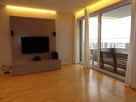 Traumhafte moderne 4 ZKB-Wohnung mit Terrasse, EBK und Garage