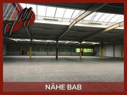 VIELSEITIG NUTZBAR ✓ 24/7-NUTZUNG ✓ RAMPE ✓ NÄHE BAB 45 ✓ Lagerflächen (1.900 m²) zu vermieten