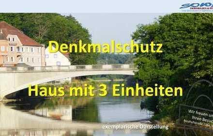 Anlageobjekt! Stadt Neuburg - Haus mit 3 Einheiten - Ihr Immobilienpartner in der Region SOWA Imm...