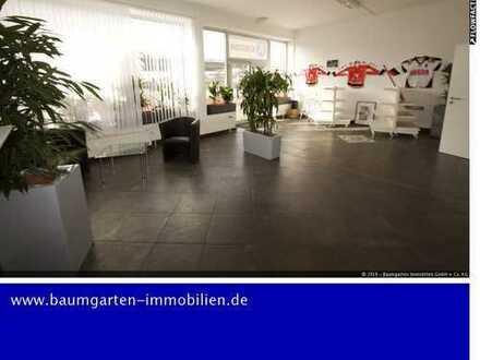 Geräumige Büro/Praxisräume mit Ladenlokal bzw. Empfangsraum im Duisburger Hafen...