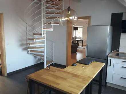 exklusive und gemütliche 122 qm Maisonette-Wohnung in Hilpoltstein