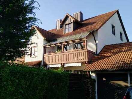 Gepflegte 5-Zimmer-Maisonette-Wohnung mit zwei Balkonen und Gartenanteil in Petershausen