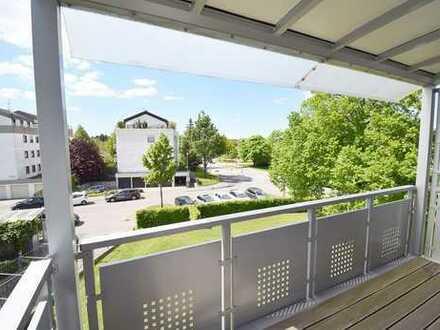 Freie 3 ½-Zimmer-Wohnung in ruhiger Lage und mit großem Balkon