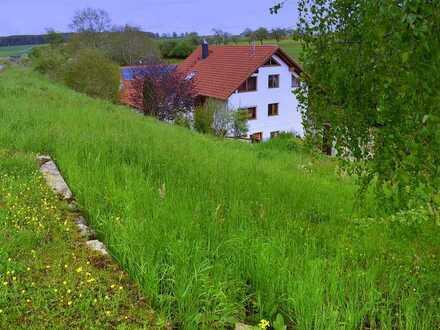 **Das Hanggrundstück für Ihr Traumhaus** ohne Bauzwang in Neuhausen o. E.- Schwandorf