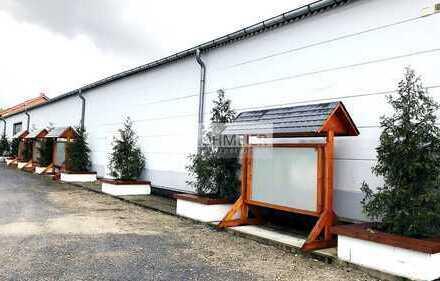 Lager-/Produktionshalle mit kleinem Büro