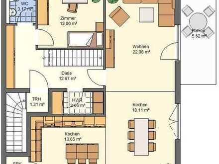 Große Eigentumswohnung über 2 Etagen