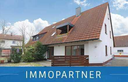 IMMOPARTNER - Zwei Wohnungen in einem Haus