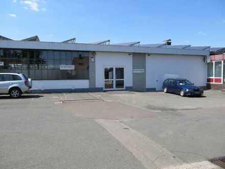 Gewerbehalle 500 qm im Zentrum von Korbach teilbar in 200 bzw. 300 qm