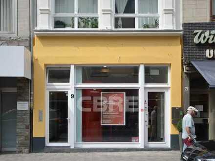 Top Einzelhandelsfläche auf der Severinstraße