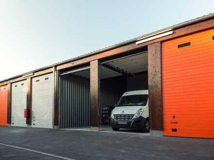 Moderne 28-112m² Garagen, Hallen & Lagerräume zu vermieten | Jederzeit kündbar