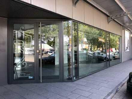 Laden und Ausstellungsfläche mit Nebenräumen in bester Lage