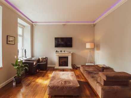 Stilvolle 2-Zimmer-Wohnung mit Balkon und Einbauküche