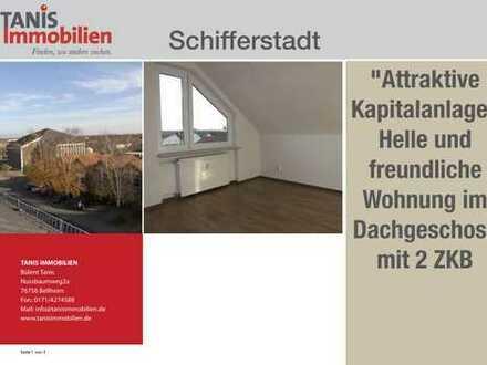 """""""Attraktive Kapitalanlage"""" 2-Zimmer-Wohnung mit Einbauküche im DG!"""