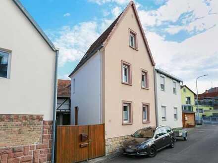 Einfamilienhaus mit Ausbaureserve zwischen Weinbergen, Wiesen und dem Klingbach