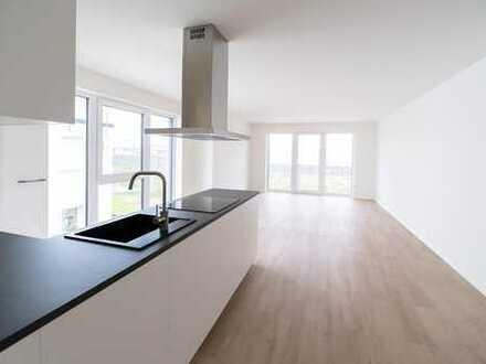 Erstbezug von Neubau! Stilvolle, geräumige 3-Zimmer-Wohnung mit EBK und Balkon in Wörth am Rhein