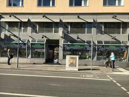 Ladenfläche zwischen Paulskirche und Hauptwache Ecke Berliner Straße / Kornmarkt