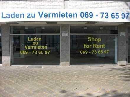 PROVISIONSFREI ! Top Laden/Geschäft direkt an der Mainzer Landstrasse !