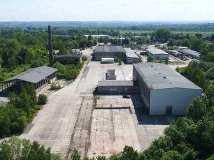 Beinahe einmalig im Landkreis Zwickau - Gewerbeareal mit über 124.000 m² Fläche