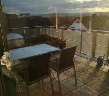 Helle 3 Zimmer Dachgeschoss Wohnung über den Dächern von Bietigheim-Bissingen