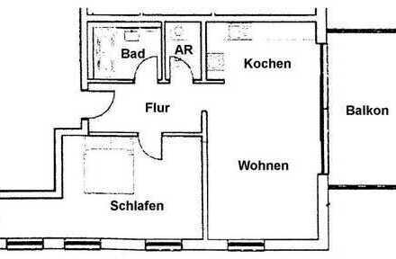 2 Zimmer Mietwohnung NEUBAU, Bamberg Hain