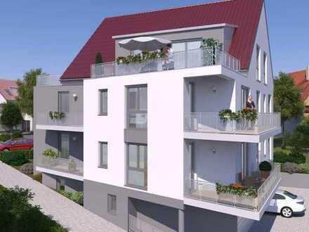 Neubauwohnung mit Südbalkon - Barrierefrei