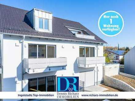 Letzte 2-Zimmer-Wohnungen im Ingolstädter Süden mit offener Wohnnküche und Balkon zu vermieten