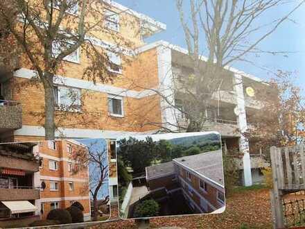 Großzüggige 2-Zi. Wohnung mit Balkon.