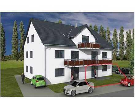 Erstbezug: freundliche 3,5-Zimmer-EG-Wohnung mit Terrasse und zusätzlichem Hobbyraum in Gundihausen
