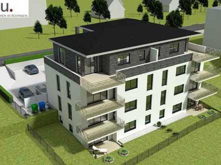 Yuniku. Einzigartig Wohnen in Büdingen. Großzügig geschnittene 2 Zimmer Wohnung mit eigenem Garten