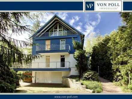 Klassische, moderne Villa mit Außenpool auf herrlichem Grundstück