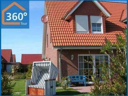 Gemütliche, sehr gepflegte Doppelhaushälfte in ruhiger Lage Nähe Nordsee