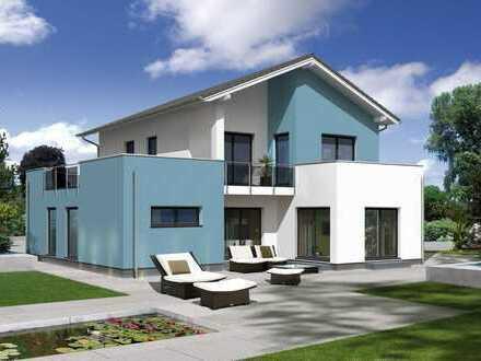 Ein großes Haus im Bauhaus-Stil mit viel Platz und großem Garten in einzigartiger Lage !