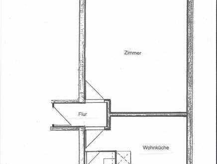 Geräumige 1-Zimmer-Wohnung mit Wohnküche in Wi-Schierstein