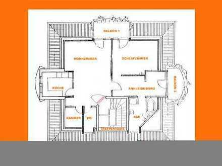 zentrale, ruhige 2,5 Zimmer Wohnung
